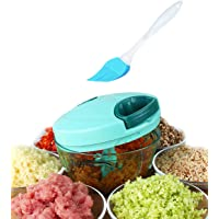 Tenta Kitchen 800ml Hand Crank Manual Food Chopper/Meat Grinder/Vegetable Dicer and Mincer/Fruit Cutter with Egg Separator