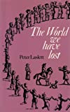 World We Have Lost (University Paperbacks)