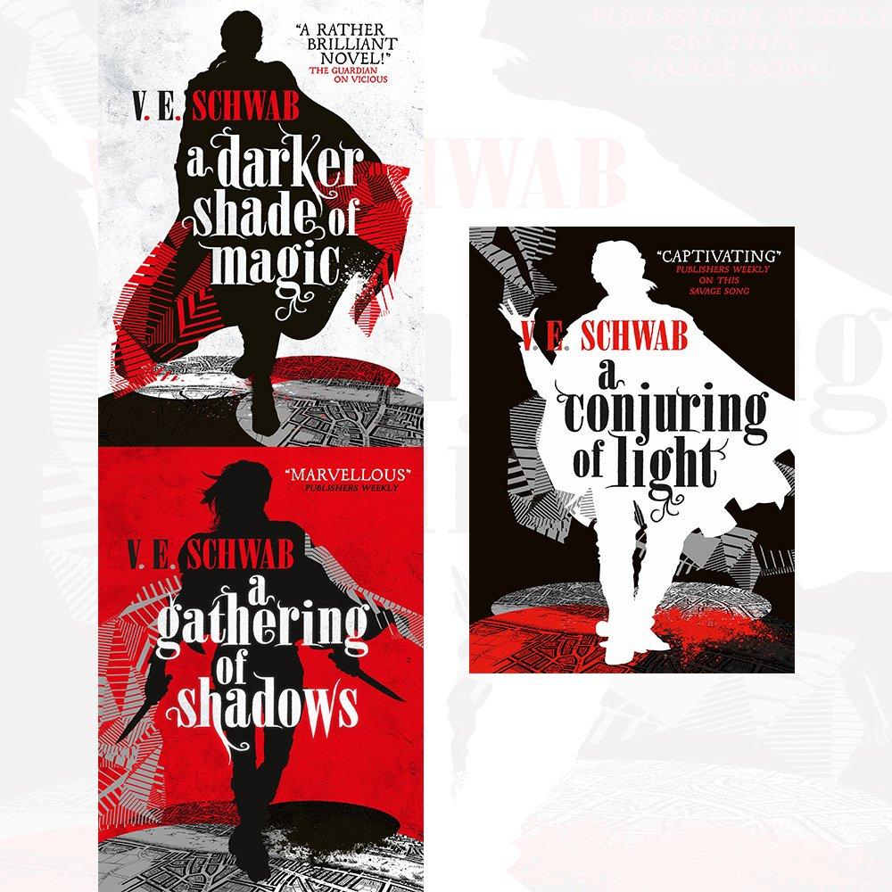 Image result for v. e. schwab a darker shade of magic