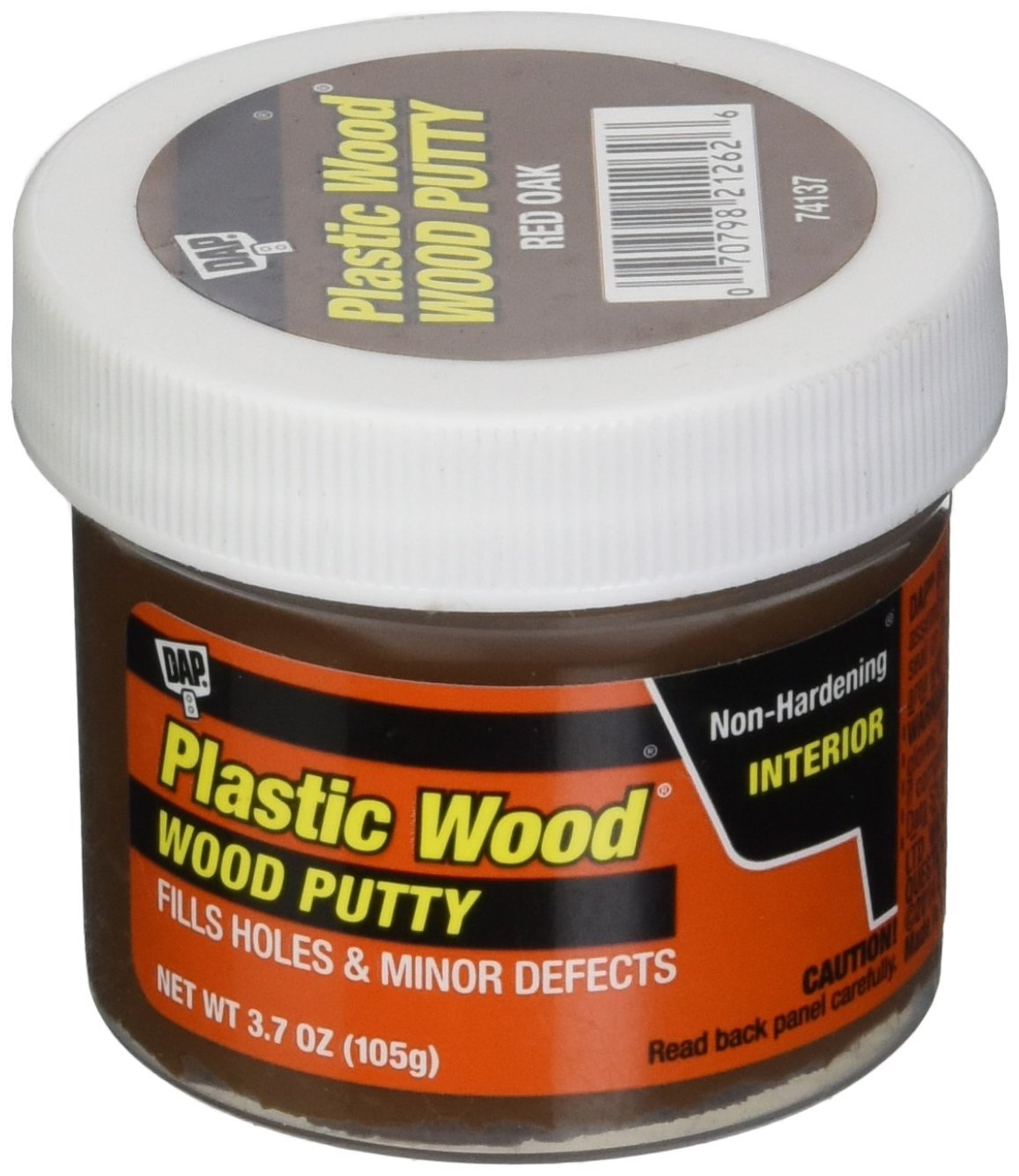 Dap 7079821262 Finishing Putty Red Oak 3.7 Oz Raw Building Material