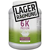 PROTEINPULVER Neutral 1kg (TESTSIEGER Eiweißpulver 2018) Nutri-Plus Shape & Shake ohne Süßstoff - auch ideal zum Backen - mit 6k-Protein - Hergestellt in Deutschland