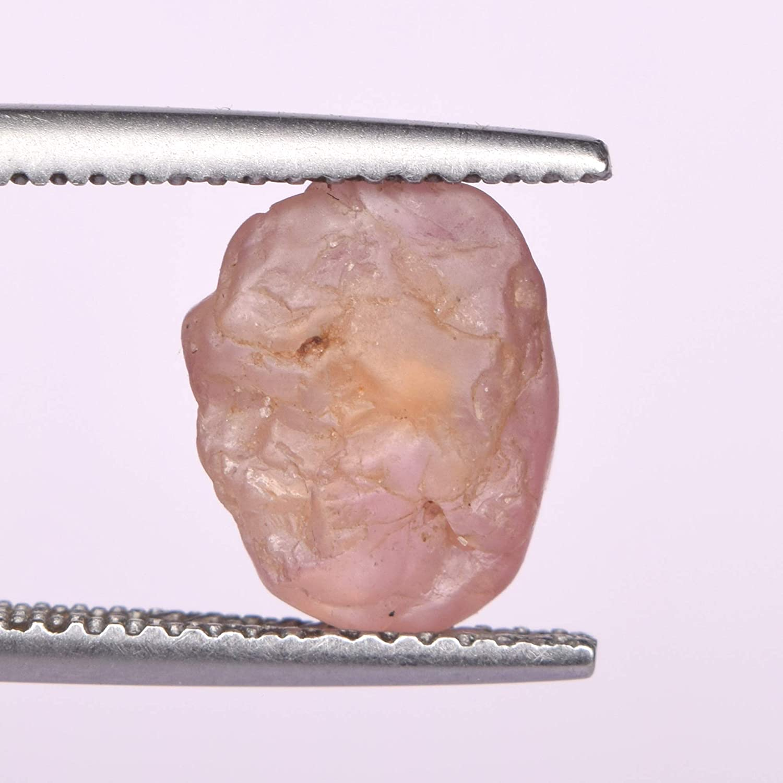 Spinelle naturelle pierres pr/écieuses en vrac cristal rouge brut brut parfait pour lenroulement de fil et la pierre de coupe lapidaire