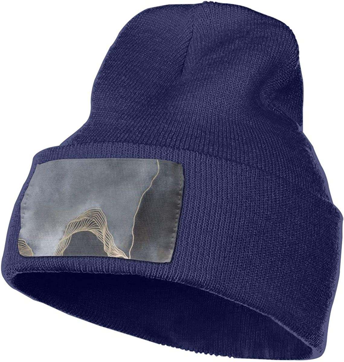 Grey Cloudy Night Men /& Women Stretchy Knitting Beanie Hat Skull Rollup Cap