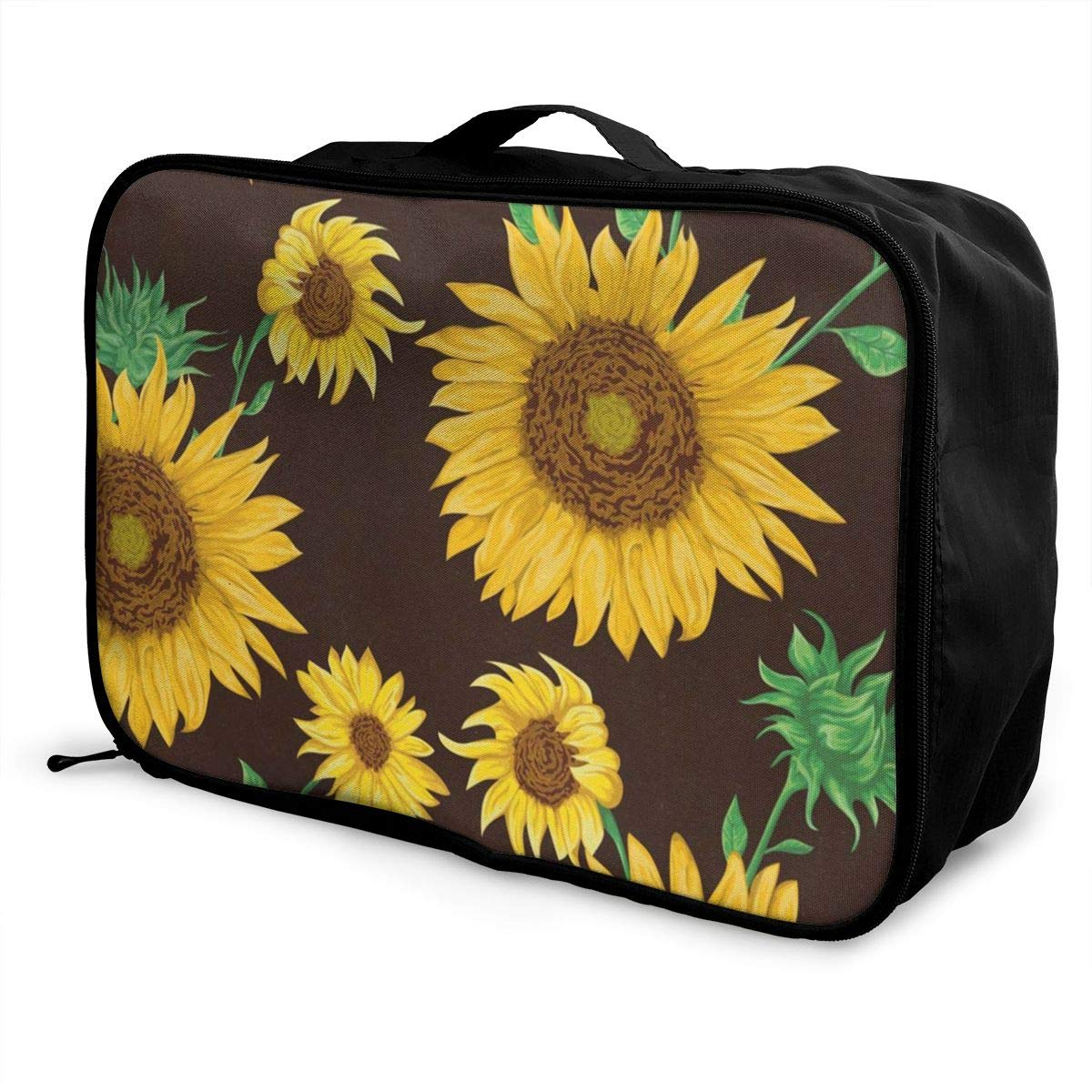 Travel Bags Sunflowers Collection Portable Suitcase Trolley Handle Luggage Bag