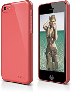 elago S5C Slim Fit 2 Case for iPhone 5C - eco Friendly Retail Packaging (Red)