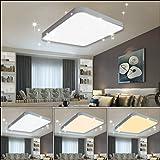 VGO 50W plafón Lámpara de techo LED Cielo estrellado ...
