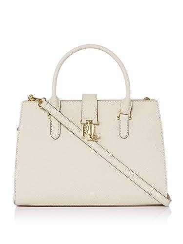 10d17b6276 NEW AUTHENTIC LAUREN RALPH LAUREN CARRINGTON BRIGITTE II (Beige)  Handbags   Amazon.com