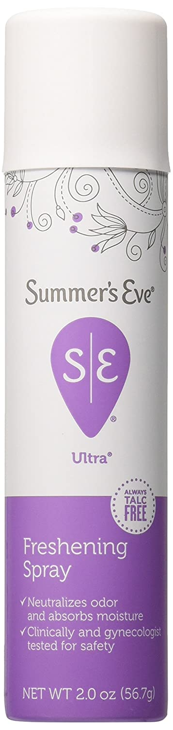 Summer's Eve Feminine Deodorant Spray, Ultra Extra Strength, 2 Count Everready First Aid 317047