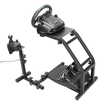 Autovictoria Simulador de Carrera Soporte de Volante de Carrera para Logitech G25 G27 y G29 no Incluye Volante y Pedales (G29 G27 G25): Amazon.es: Juguetes ...