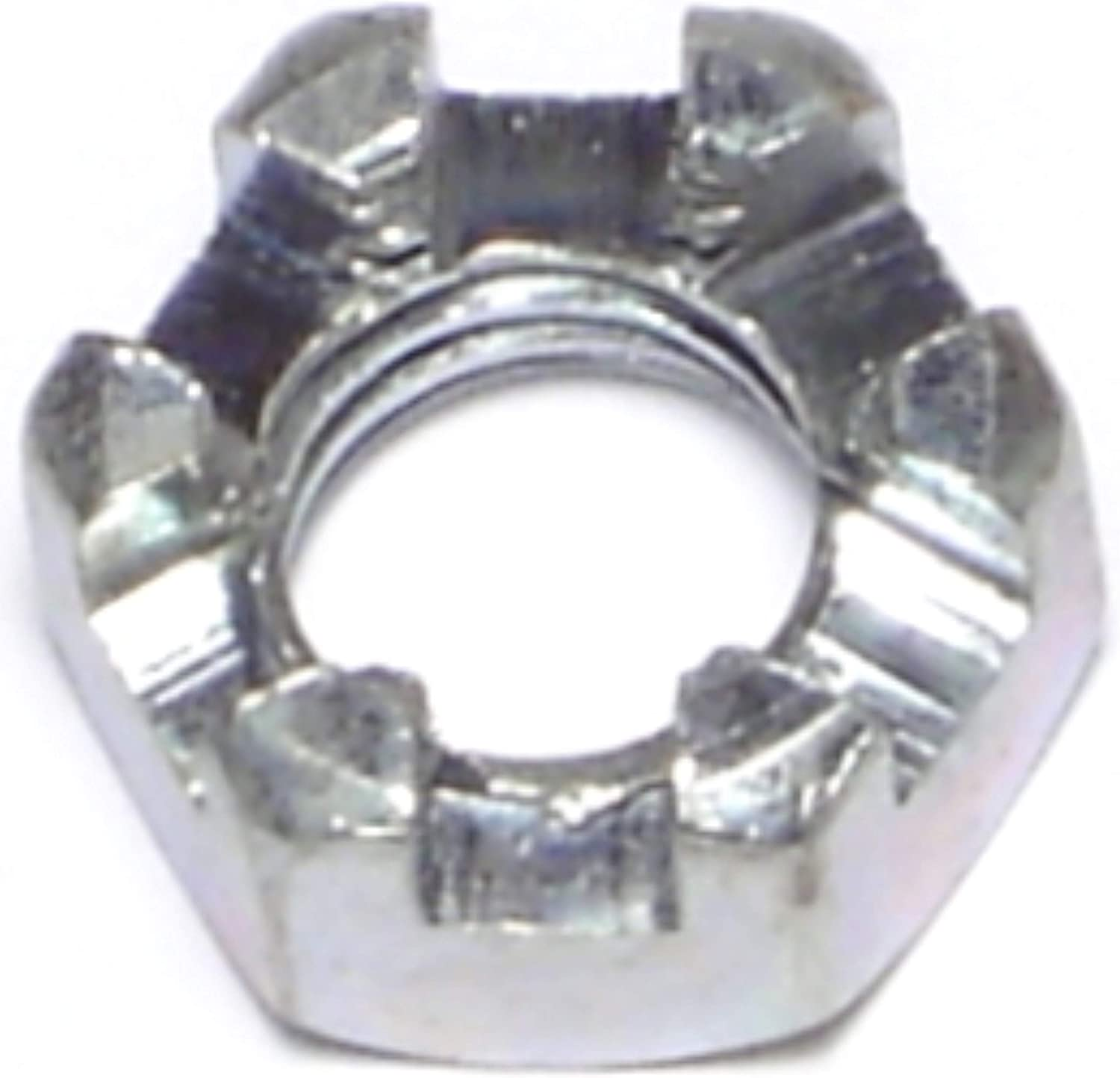 Piece-6 1//2-13 Hard-to-Find Fastener 014973312534 Coarse Slotted Hex Nuts