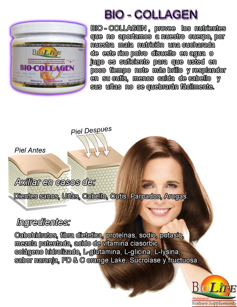 Amazon.com: Hydrolyzed Collagen Drink Mix Whit Vitamin C, 195 Grs, 100% Skin Revitalization, Anti-ageing and Antioxidant: Health & Personal Care