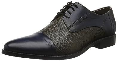 Daniel Hechter HB10041W - Zapato brogue de cuero hombre, color marrón, talla 45