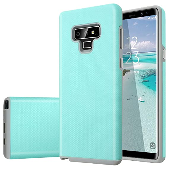 separation shoes 1ed3d f7322 Fingic Galaxy Note 9 Case,Note 9 Case Slim,Minimalist Slim Fit Hard  Protective Cover Bumper Protective Phone Cover for Women Girls Kids for  Samsung ...