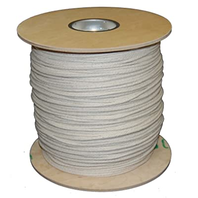 T.W Evans Cordage 46-087 Number-8 14-Inch Buffalo Cotton Sash Cord 1200-Feet Spool - Ropes - .com