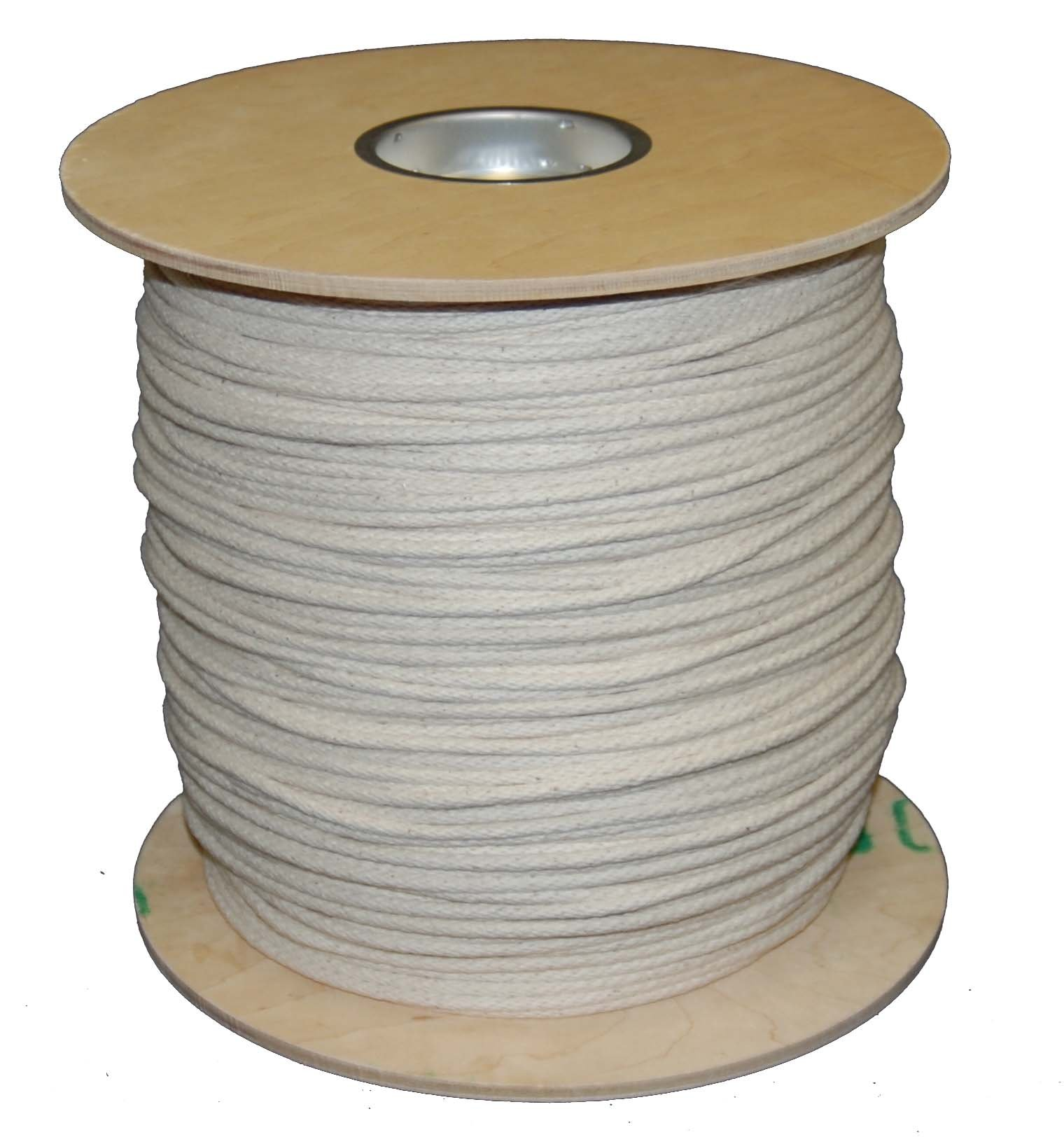 T.W . Evans Cordage 46-067 Number-6  3/16-Inch  Buffalo Cotton Sash Cord 1200-Feet Spool