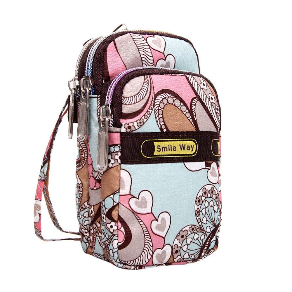 JJLIKER ❤ Children Bag Fashion Cute Cartoon Solid Color Shoulder Crossbody Bag