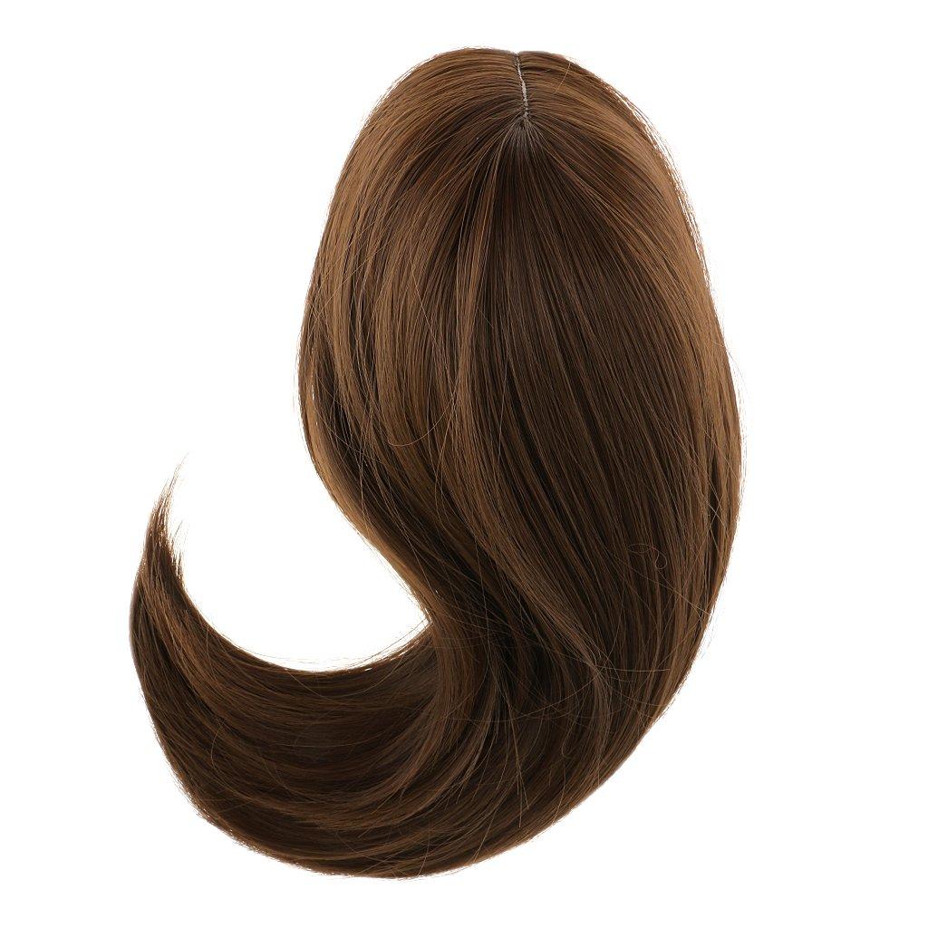 Jili Online Fashion Dolls Wigs DIY Hair Hairpiece for 18 Inch American Girl Doll Accss Dark Brown 4336857467