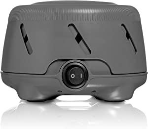 Marpac Yogasleep Dohm UNO White Noise Machine | Real Fan Inside for Non-Looping White Noise | Sound Machine for Travel, Office Privacy, Sleep Therapy | for Adults & Baby | 101 Night Trial, Charcoal