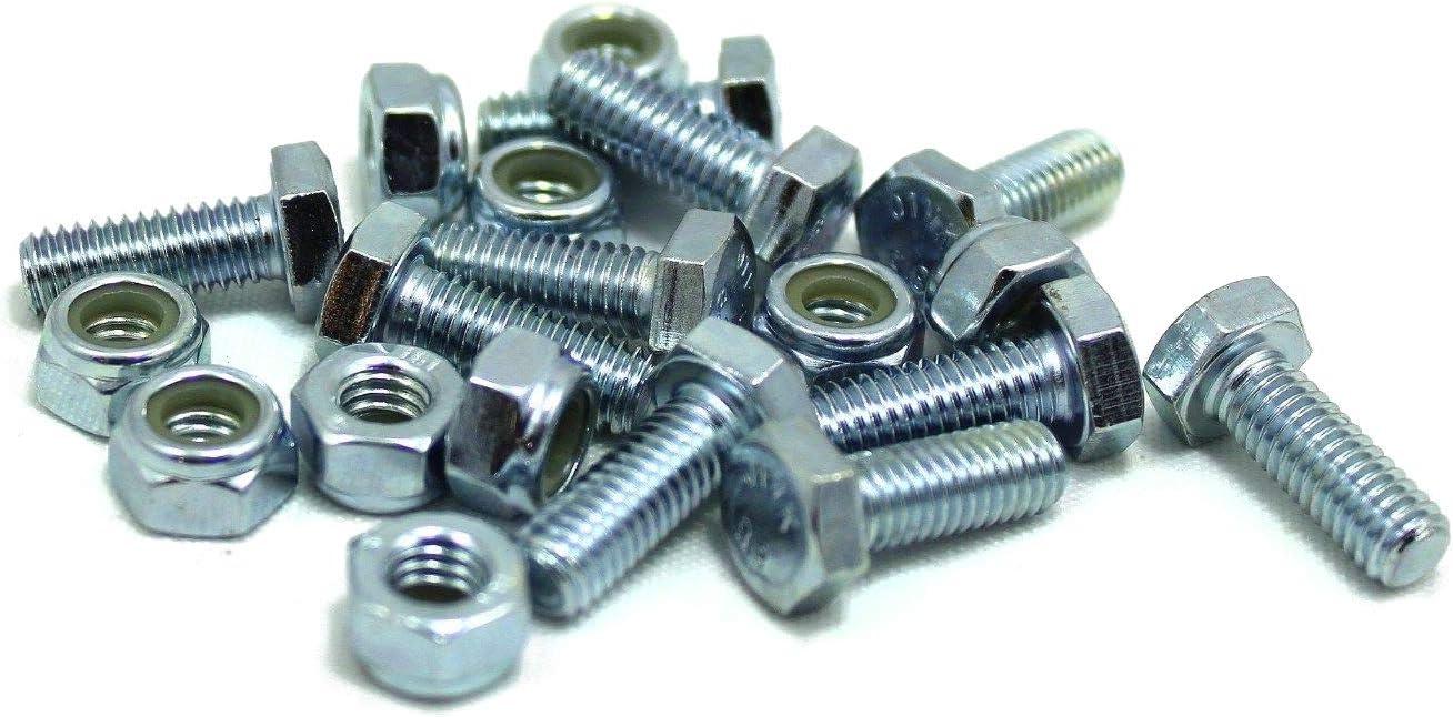 Amazon.com: 20 sets – Barrena Shear Pins pernos & Tuercas ...
