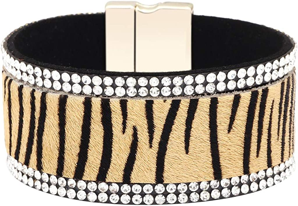 BEUU Wrap Bracelets Leopard...