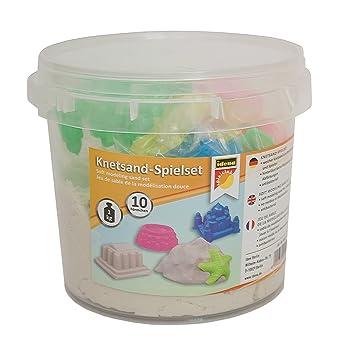 Idena - Juego de 10 moldes para Jugar con Arena, Colores Variados (40415): Amazon.es: Juguetes y juegos