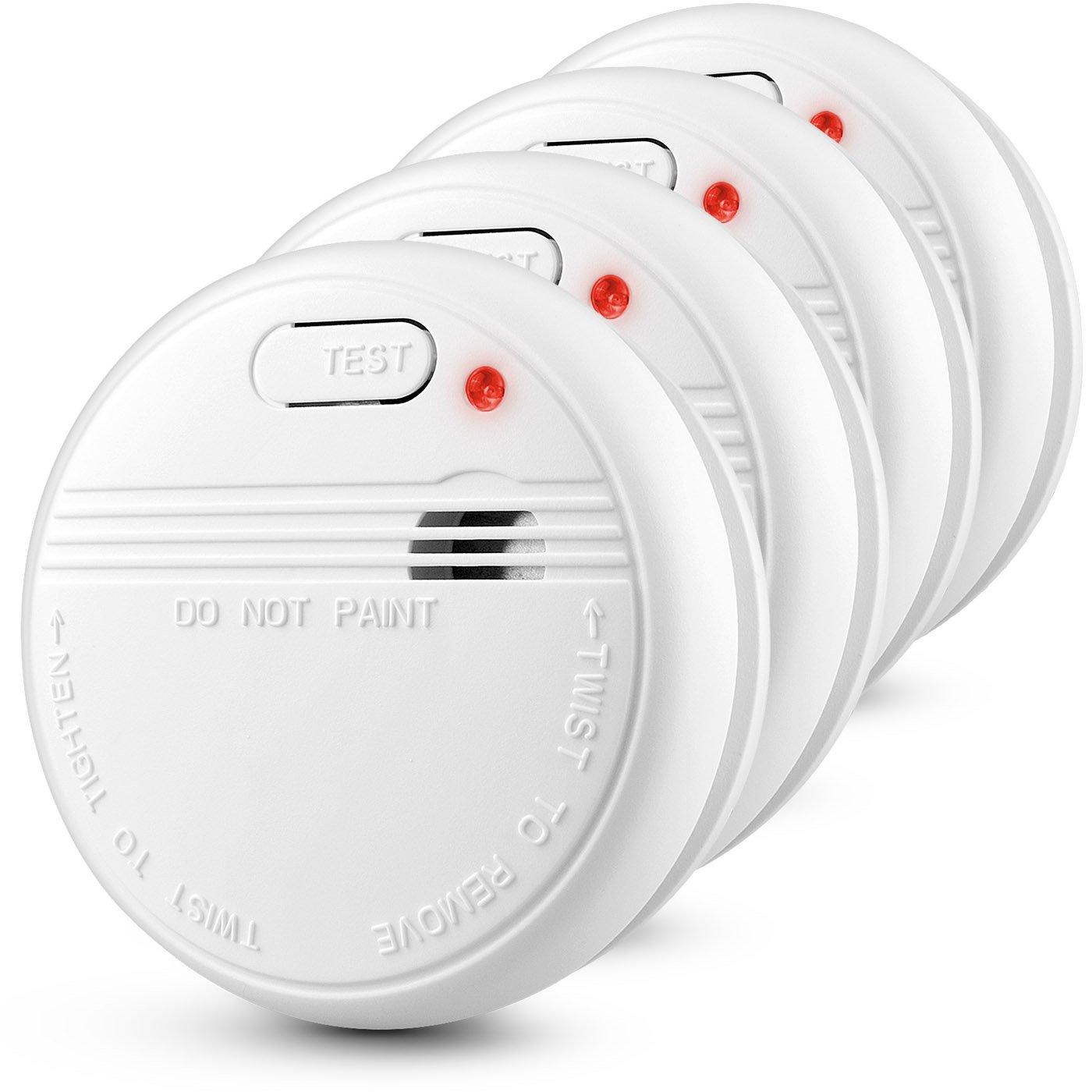 Alarma de humo independiente de 10 años con batería HEIMAN, VdS, BOSEC, EN14604, detector de humo con certificación CE, sensor fotoeléctrico de prueba Alarm-626PHS(3 Unidades)