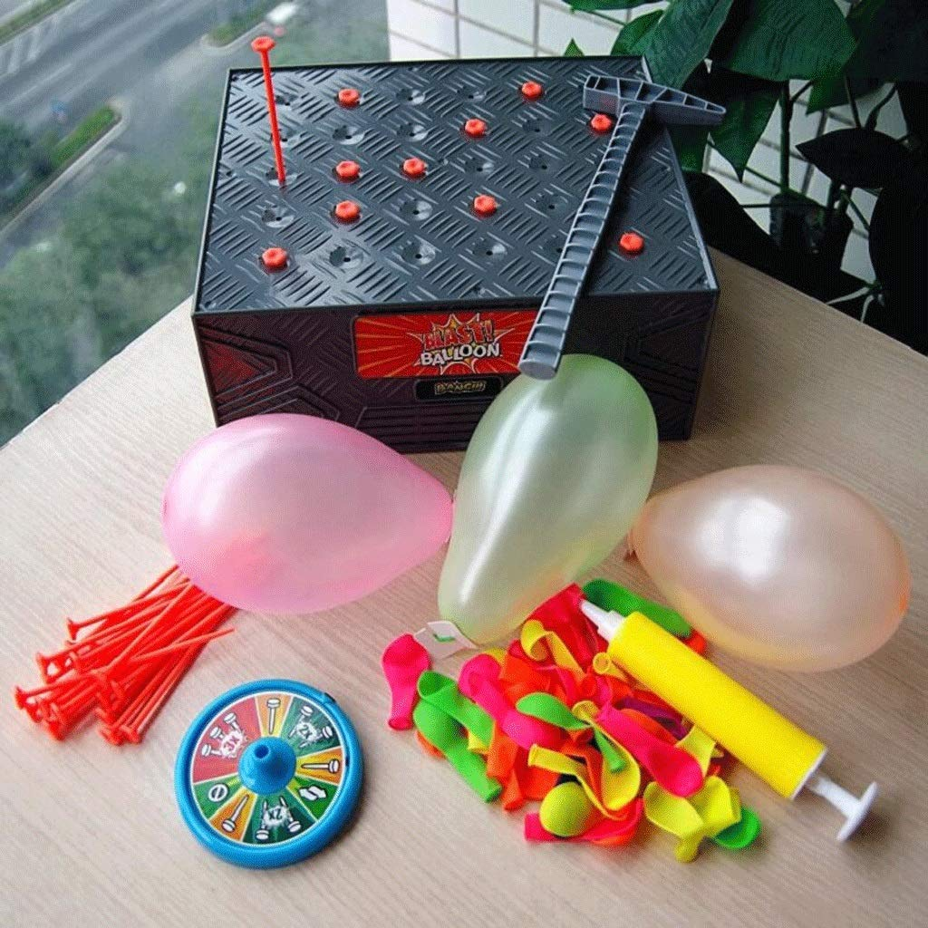 Gaoxiaob Explosive Balloon Spoof Tidy People Fun Multiplayer Table Game Annual Meeting Props Children Party Toys Price: US $17.17 / Set by Gaoxiaob