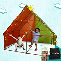 Fort Building Kit for Kids | Build Indoor Blanket Forts with The Ultimate Fort Builder | Large 386 Pieces Fort Magic…