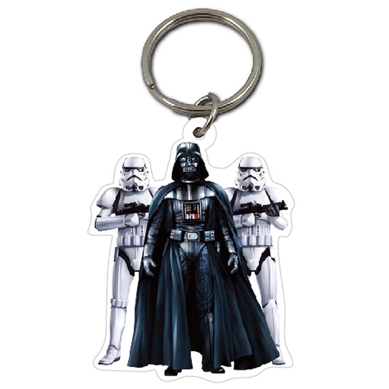 Star Wars Official Stormtrooper/Darth Vader Keyring