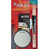 Rudimental Drum Pack: A Great Starter Kit for the Beginning Drummer!, Book, CD, Drum Pad, & Sticks