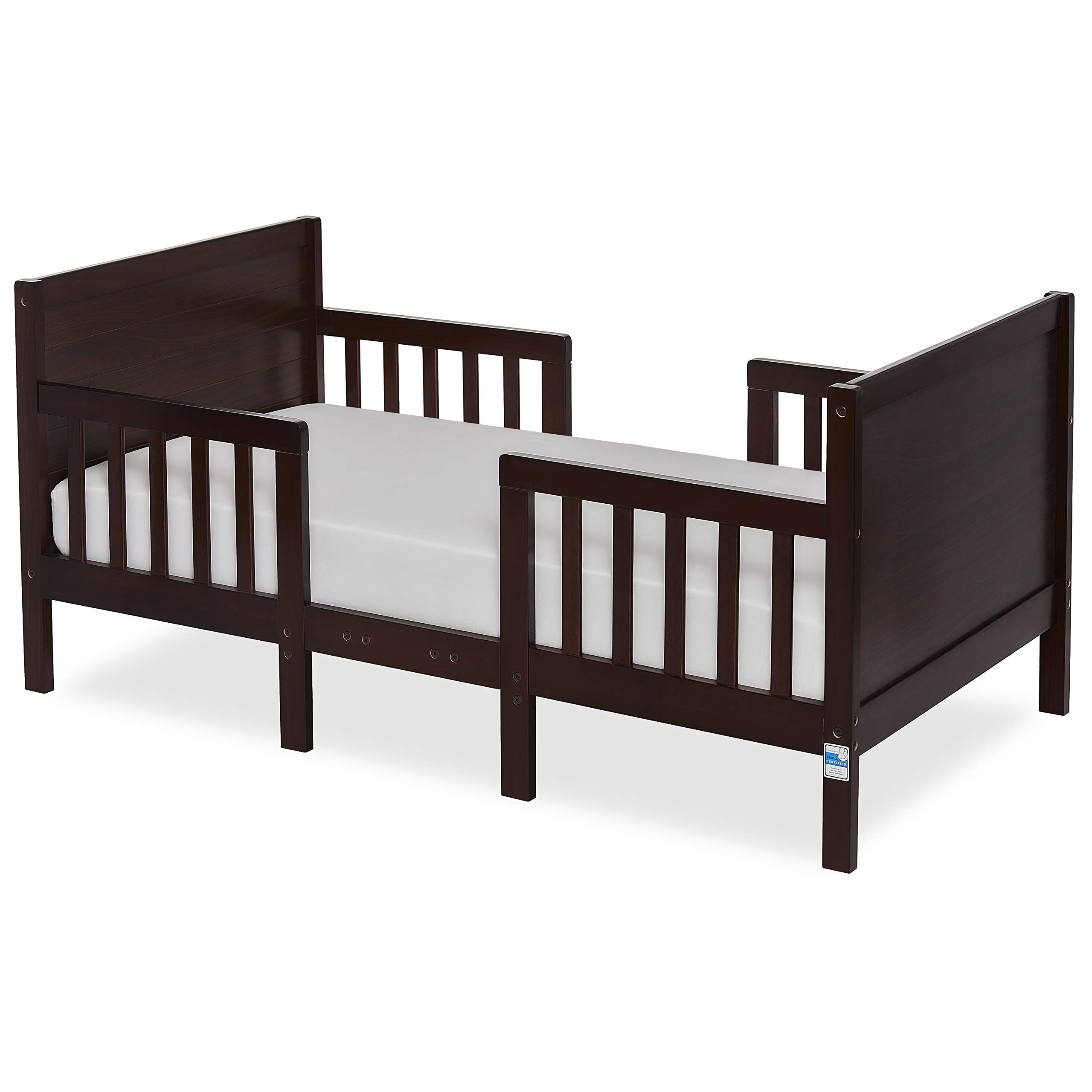 Dream On Me Hudson 3 In 1 Convertible Toddler Bed, Espresso by Dream On Me
