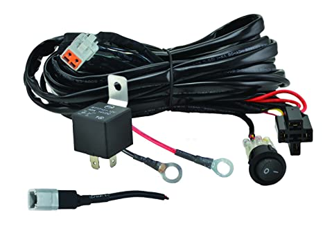 amazon com hella 357211001 valuefit single light wiring harness rh amazon com hella wiring harness kit hella horn wiring harness
