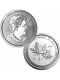 2019 10 oz $50 .9999 Silver Canada Maple Leaf $50 Brilliant Uncirculated