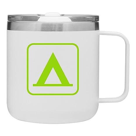Amazon.com: Taza térmica de acero inoxidable con tapa para ...