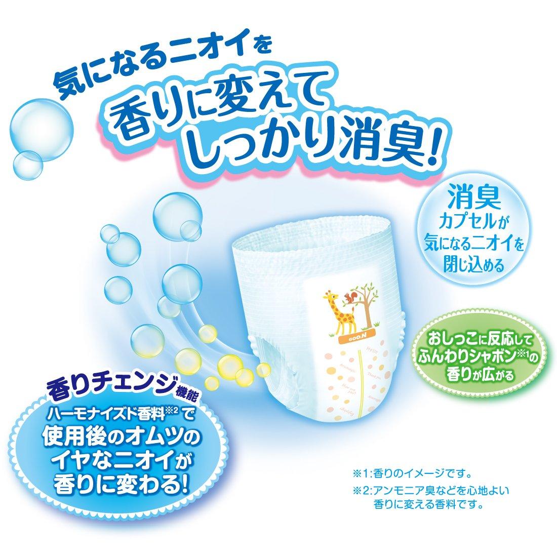 36 St/ück Premium Qualit/ät Made in Japan NEU 12-20 kg XL perfektes Geschenk f/ür Mama und Baby! GOO.N Baby Deo-Windelh/öschen AROMAGIC Gr