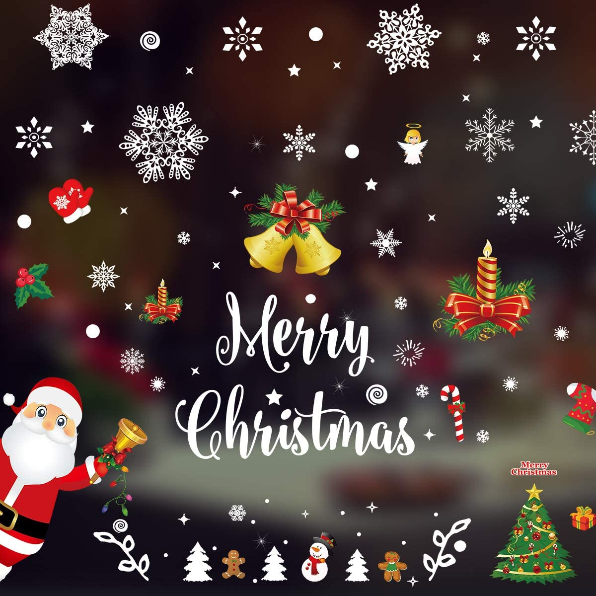Window Sticker Christmas Holiday Decorative