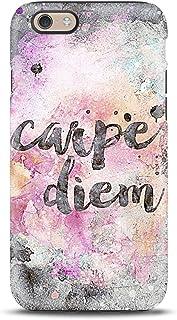 Carpe Diem Acquerello cover case custodia per iPhone 5, 5s, SE, 6, 6s, 7, 7 plus, 8, 8 plus, X, XS, per Galaxy S6, S7, S8