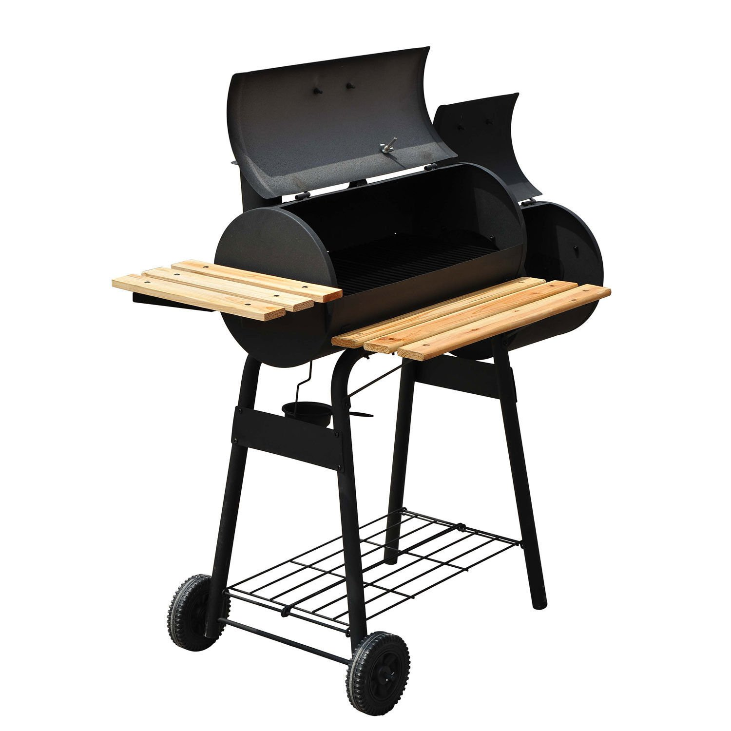 48'' BBQ Grill Charcoal Barbecue Patio Backyard Home Meat Cooker Smoker