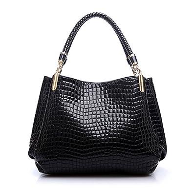 2018 Designer Handbag Women Leather Handbags Alligator Shoulder Bags Hand  Bag Bolsas Womens Bag bc61cac183857