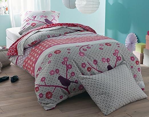 Becquet - Funda de almohada o cojín cilíndrico niña tonos ...
