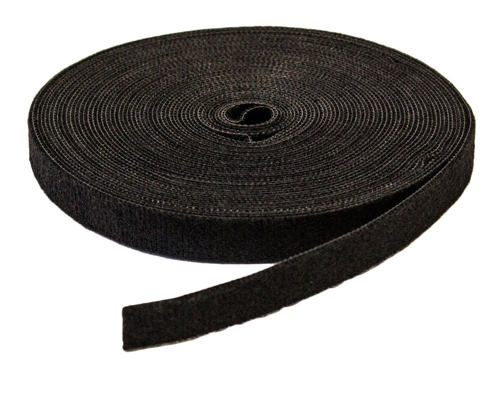 NavePoint 1/2'' Inch Roll Hook & Loop Reusable Cable Ties Wraps Straps - 10M 33ft