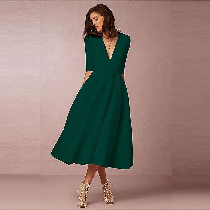 Fashion Spring Winter Dress Women 2018 Plus Size Elegant Ball Gown ...