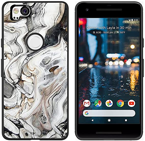 half off 27df8 16b88 Pixel 2 Case Protective Marble - CCLOT Protective Cover Compatible for  Google Pixel 2 Pattern and Design Unique Fashionable (TPU Protective  Silicone ...