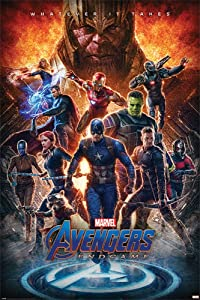 Avengers: Endgame - Movie Poster (Whatever It Takes - Thanos & The Avengers) (Size: 24 x 36 Inches)