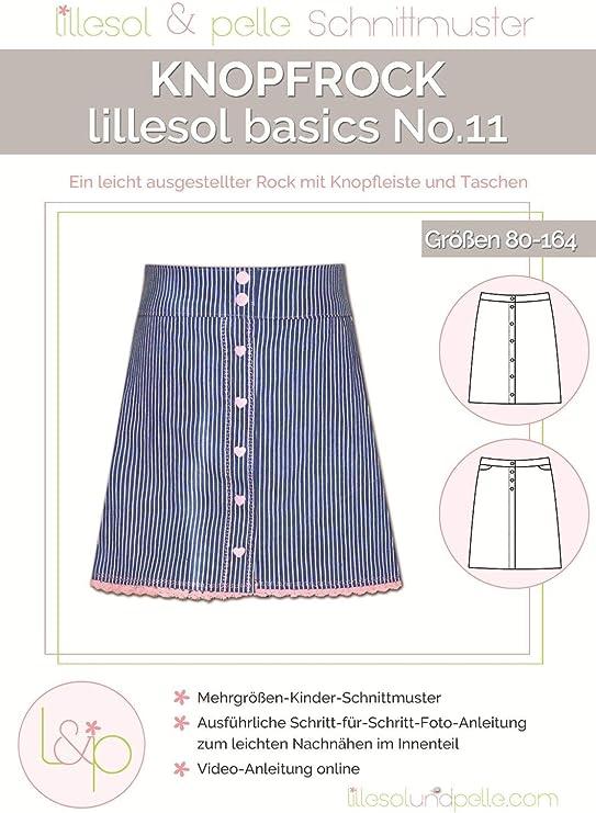 Lillesol & Pelle basics No11 - Patrón de costura para falda de ...