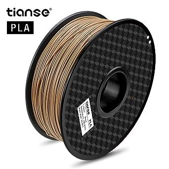 TIANSE Filamento de PLA para la impresora 3D / Pluma 3d, 1 ...