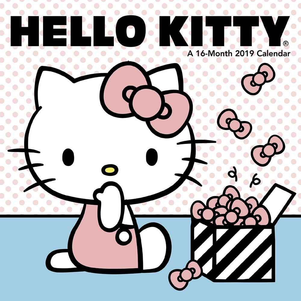 Hello Kitty Mini Wall Calendar (2019): Day Dream: 9781635712964:  Amazon.com: Books