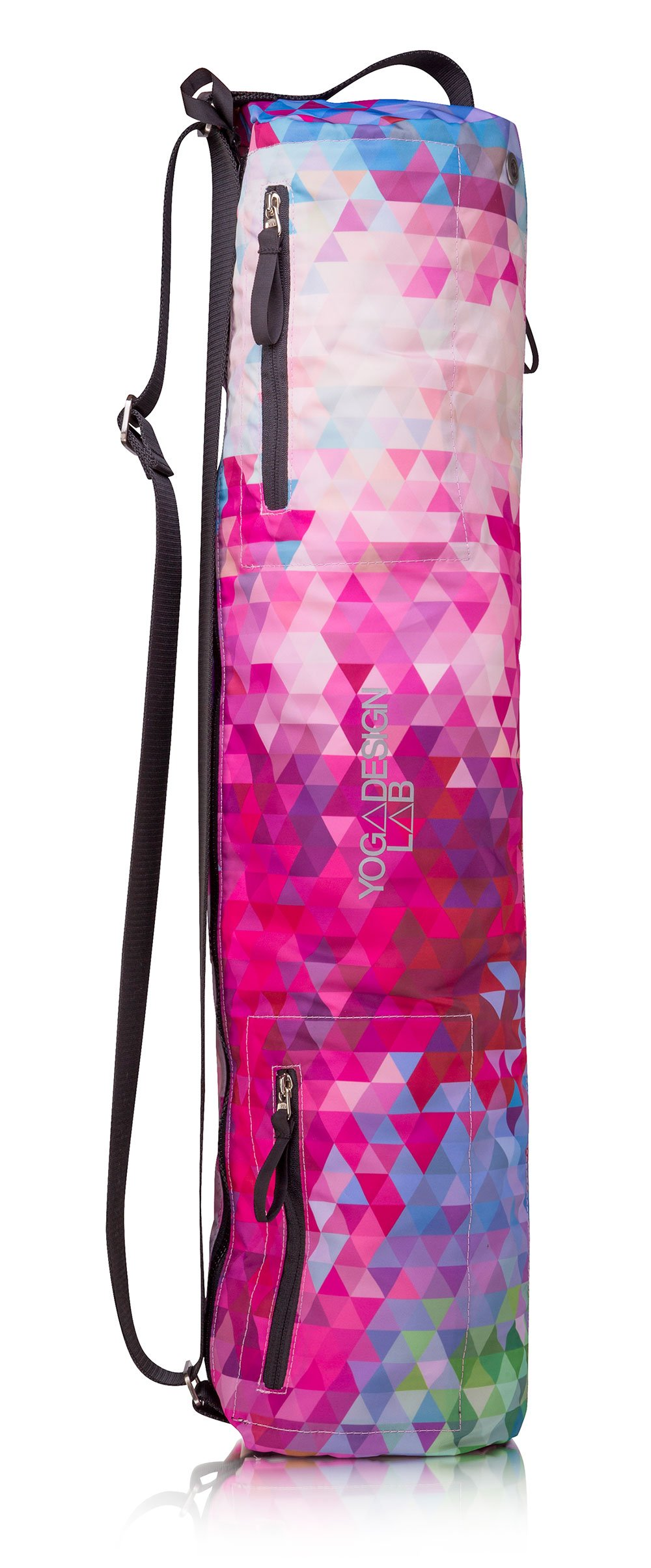 YOGA DESIGN LAB The Yoga MAT Bag Premium, All-in-One, Lightweight, Multi Pockets, Extra Durable | Designed in Bali | The Travel Yoga Bag That Fits Your Mat & Your Life!
