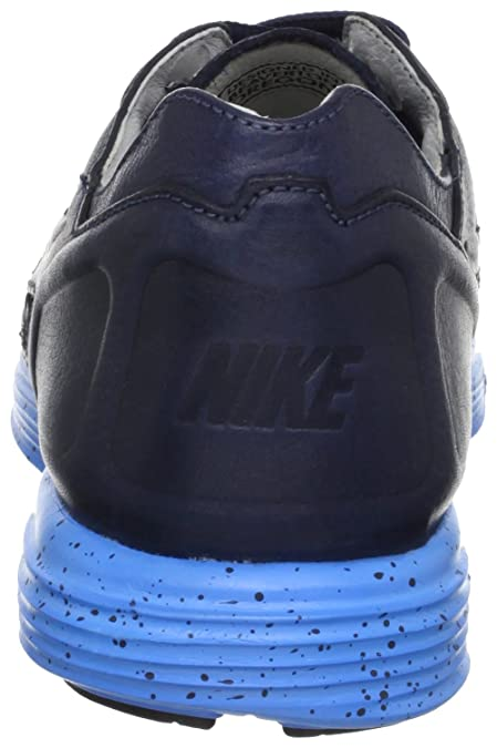 686470c1d096 Amazon.com  NIKE Lunar Flow Woven Leather TZ - Dark Obsidian Dark Obsidian  (9 D US)  Shoes