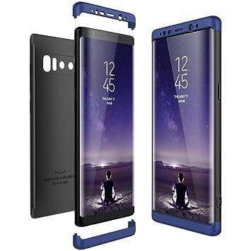 CE-Link Funda Samsung Galaxy Note 8, Carcasa Fundas para Samsung Galaxy Note 8, 3 en 1 Desmontable Ultra-Delgado Anti-Arañazos Case Protectora - Azul ...